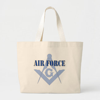 Freemasons in the Airforce Jumbo Tote Bag