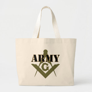 Freemasons in the Army Canvas Bag
