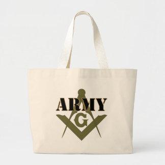 Freemasons in the Army Jumbo Tote Bag