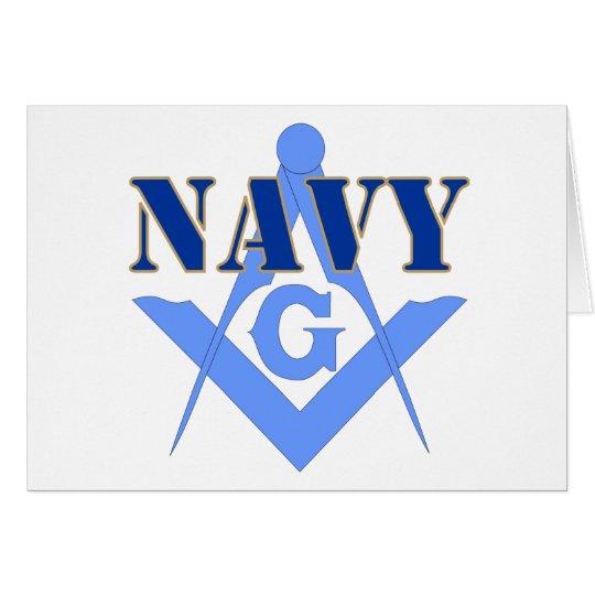 Freemasons in the Navy Card