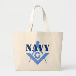 Freemasons in the Navy Jumbo Tote Bag