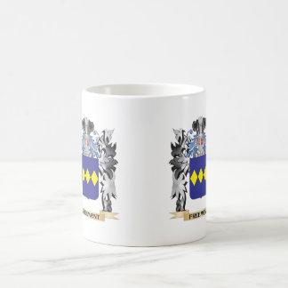 Freemont Coat of Arms - Family Crest Basic White Mug