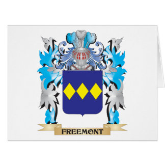 Freemont Coat of Arms - Family Crest Big Greeting Card