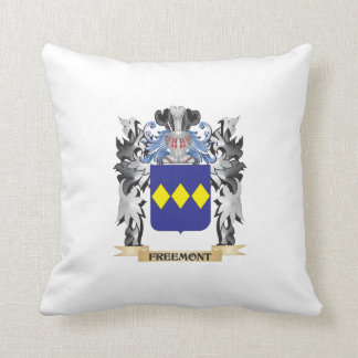Freemont Coat of Arms - Family Crest Cushion