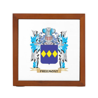 Freemont Coat of Arms - Family Crest Desk Organisers