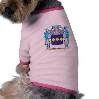 Freemont Coat of Arms - Family Crest Pet T-shirt