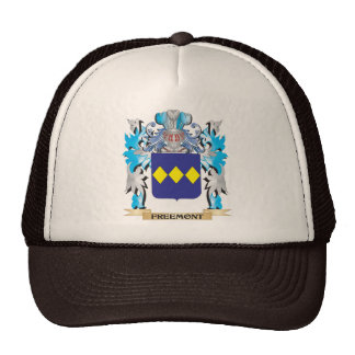 Freemont Coat of Arms - Family Crest Trucker Hat