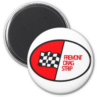 Freemont Drag Strip 6 Cm Round Magnet