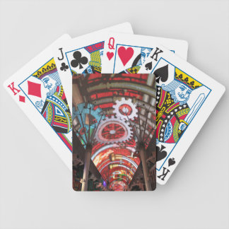 Freemont Street Vegas Las Vegas Gambling Bicycle Playing Cards