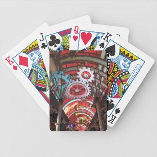 Freemont Street Vegas Las Vegas Gambling Bicycle Poker Deck