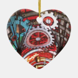 Freemont Street Vegas Las Vegas Gambling Ceramic Heart Decoration