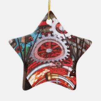 Freemont Street Vegas Las Vegas Gambling Ceramic Star Decoration