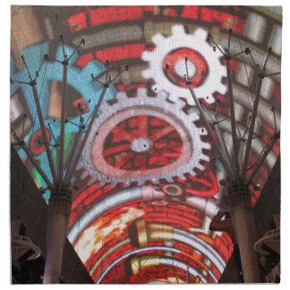 Freemont Street Vegas Las Vegas Gambling Cloth Napkin