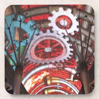 Freemont Street Vegas Las Vegas Gambling Coasters