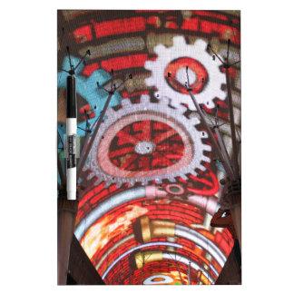 Freemont Street Vegas Las Vegas Gambling Dry-Erase Whiteboard