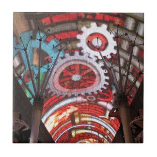 Freemont Street Vegas Las Vegas Gambling Small Square Tile