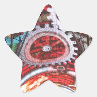 Freemont Street Vegas Las Vegas Gambling Star Sticker