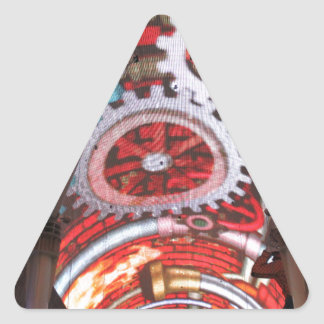 Freemont Street Vegas Las Vegas Gambling Triangle Sticker