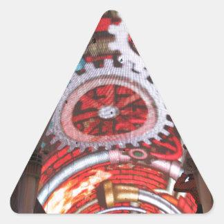 Freemont Street Vegas Las Vegas Gambling Triangle Sticker