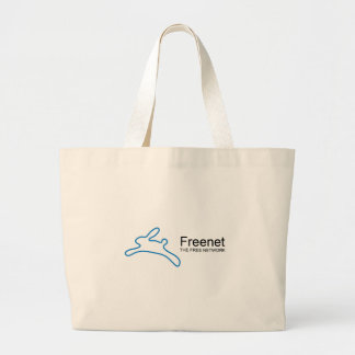 Freenet Bunny Text Tote Bags
