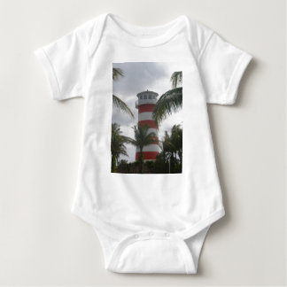 Freeport Bahamas lighthouse Baby Bodysuit