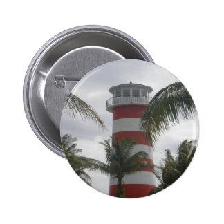 Freeport Bahamas lighthouse Button