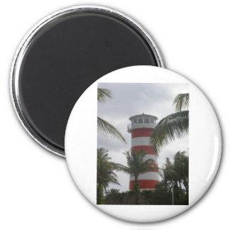 Freeport Bahamas lighthouse Fridge Magnets