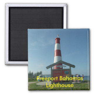 Freeport Bahamas Lighthouse Magnet