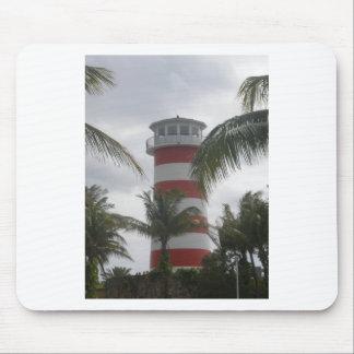 Freeport Bahamas lighthouse Mouse Pad