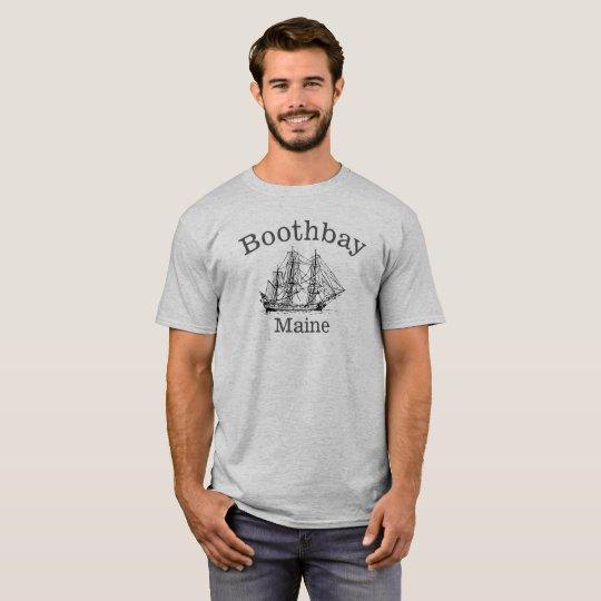 Freeport Maine Tall Ship Shirt
