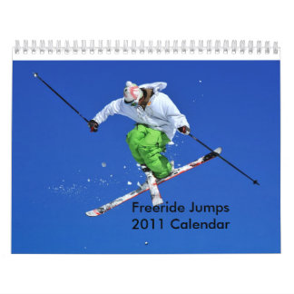 Freeride Jumps 2011 Calendar