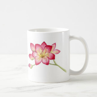 Freesia Basic White Mug