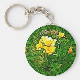 Freesia Burst Key Ring