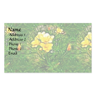 Freesia Burst Pack Of Standard Business Cards