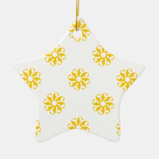 Freesia Flower 7 Christmas Tree Ornaments