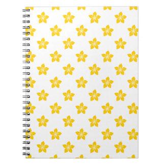 Freesia Flower 9 Spiral Note Books