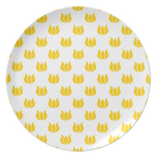 Freesia Flower Pattern 5 Party Plate