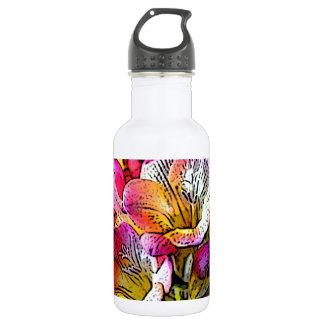 Freesia Flowers 532 Ml Water Bottle