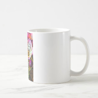 Freesia Flowers Basic White Mug