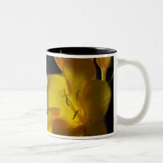 Freesia Macro 2 Mugs