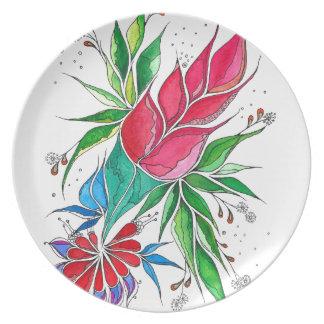 Freesia Plate