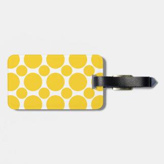 Freesia Polka Dot 2 Luggage Tag