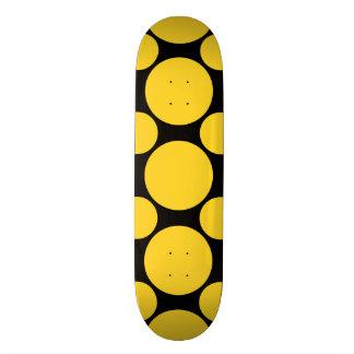 Freesia Polka Dot 2 Skate Boards