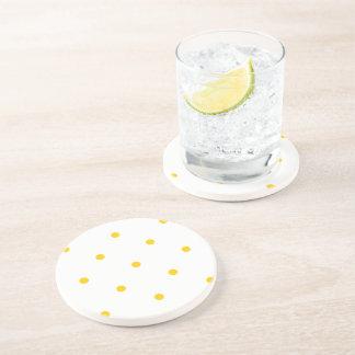 Freesia Polkadots Small Beverage Coaster