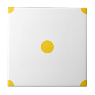 Freesia Polkadots Small Ceramic Tile