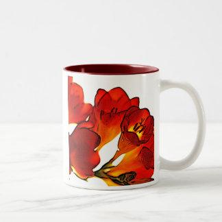 Freesia Two-Tone Mug