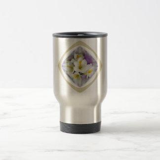 Freesia White Lavender Mug