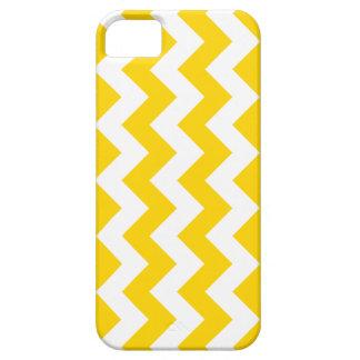 Freesia Yellow Chevron Zigzag iPhone 5 Case
