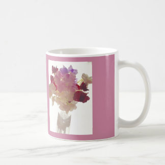 Freesias Basic White Mug