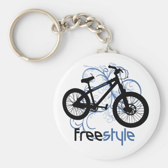Freestyle Basic Round Button Key Ring